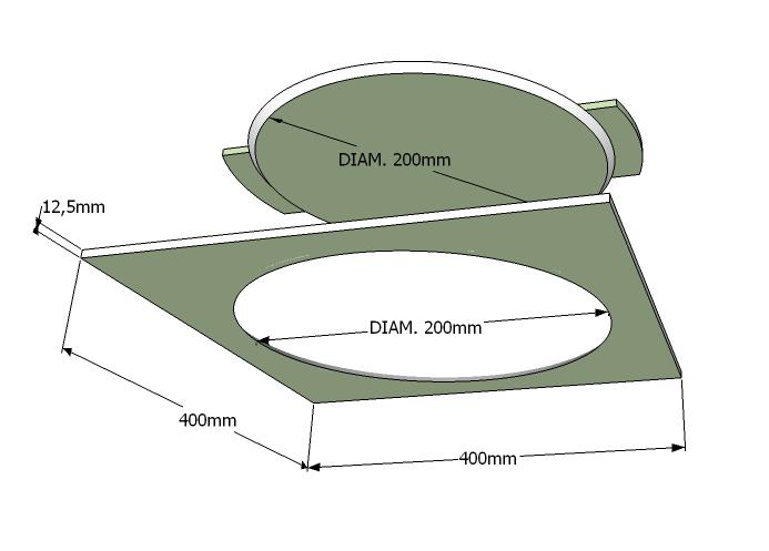Trampilla circular Pladur