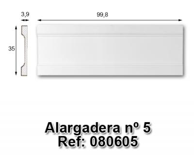 Alargadera nº5