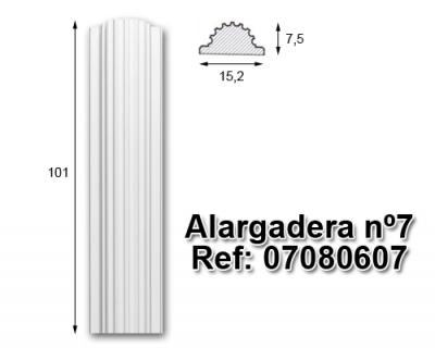 Alargadera nº7