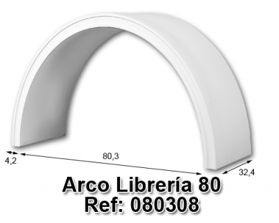 Arco librería 80