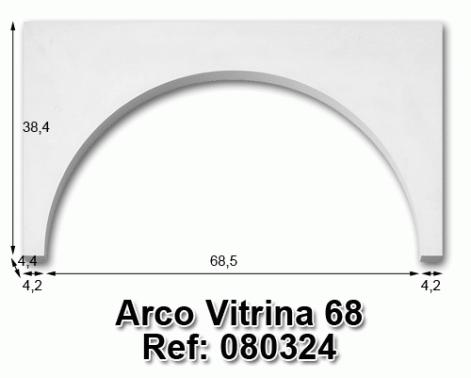 Arco vitrina 68