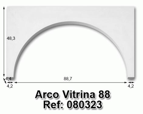 Arco vitrina 88