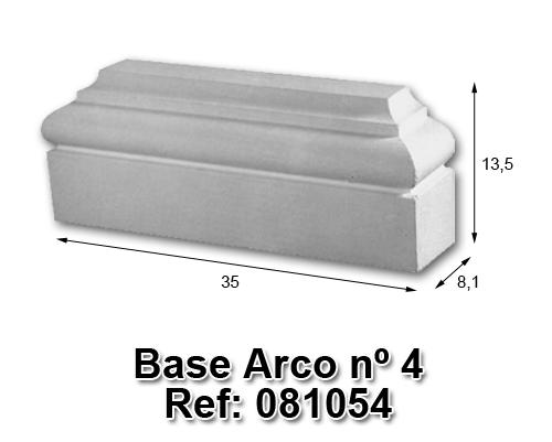 Base arco nº4