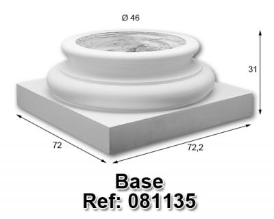 Base columna