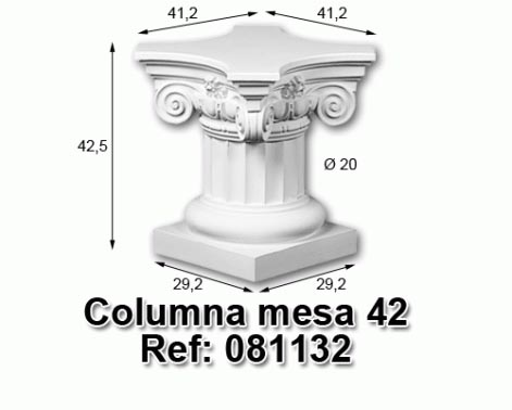 Columna mesa 42