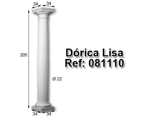 Dórica lisa 204