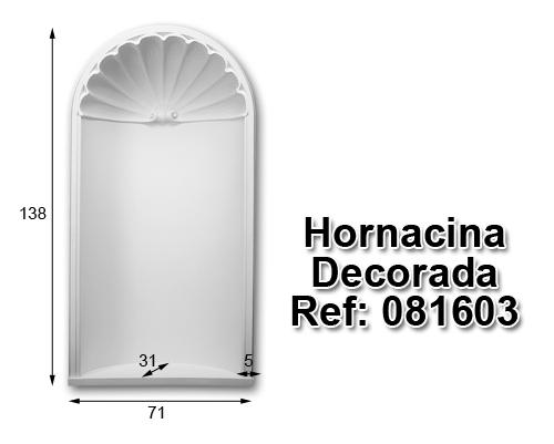 Hornacina decorada