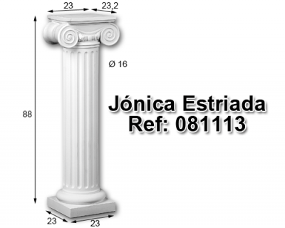 Jónica estriada 88