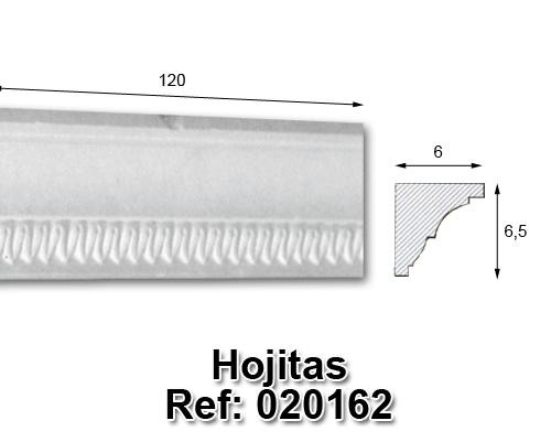 Moldura hojitas