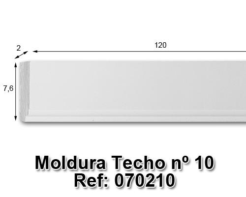 Moldura techo nº10