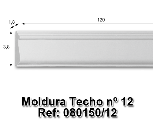 Moldura techo nº12