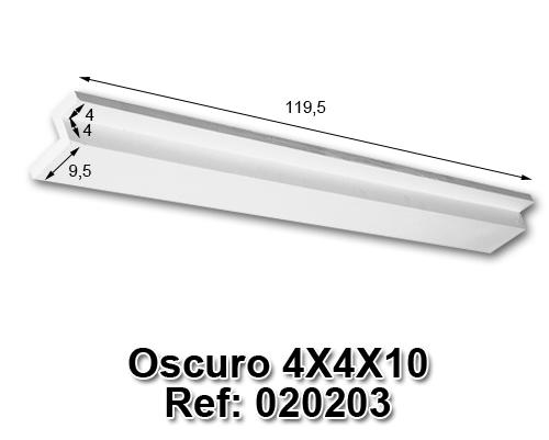 Oscuro 4x4x10
