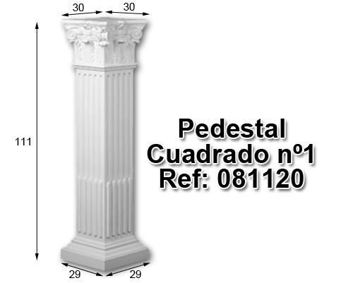 Pedestal cuadrado nº1