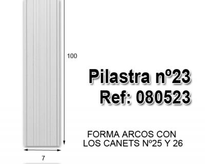 Pilastra nº23