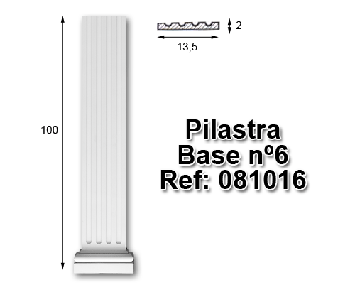Pilastra base nº6