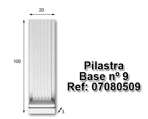 Pilastra base nº9