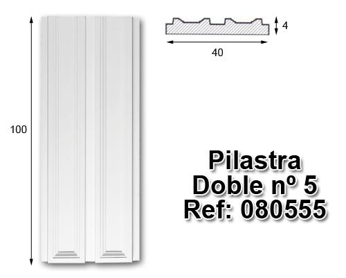 Pilastra doble nº5