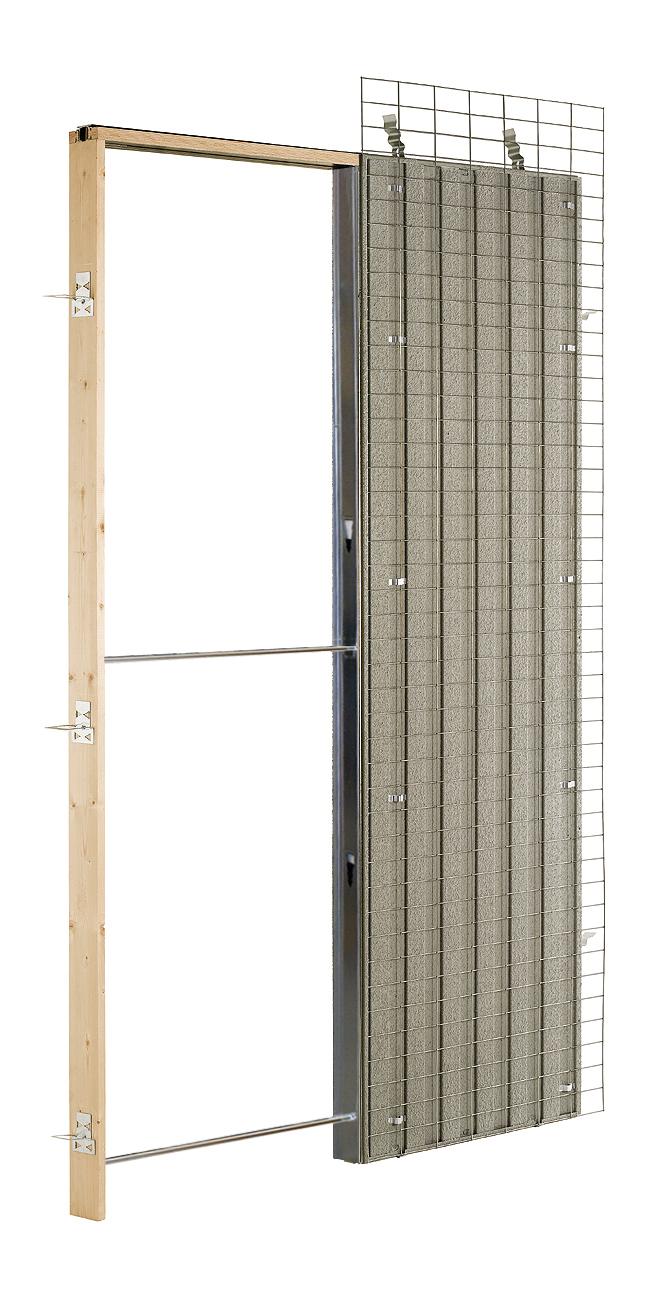 Estructura para puertas correderas