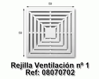 Rejilla ventilación nº1
