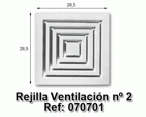 Rejilla ventilación nº2
